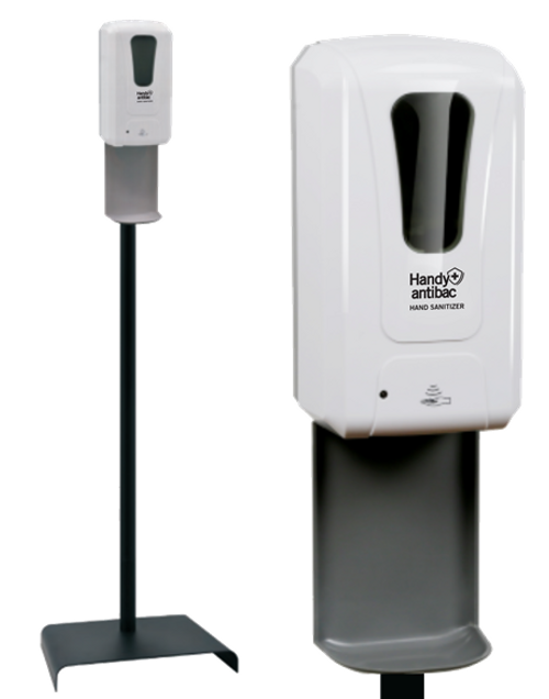 Handy Antibac Instant Hand Sanitizer Dispenser (1200 ml) With Mobile Stand
