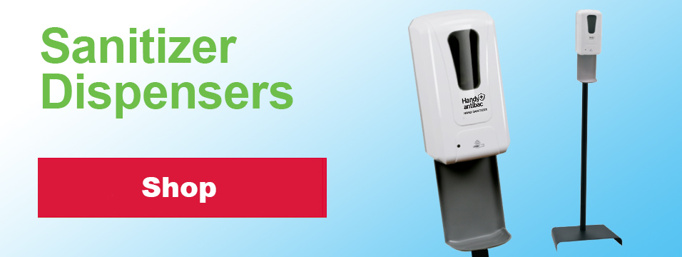 Shop Sanitizer Dispensers