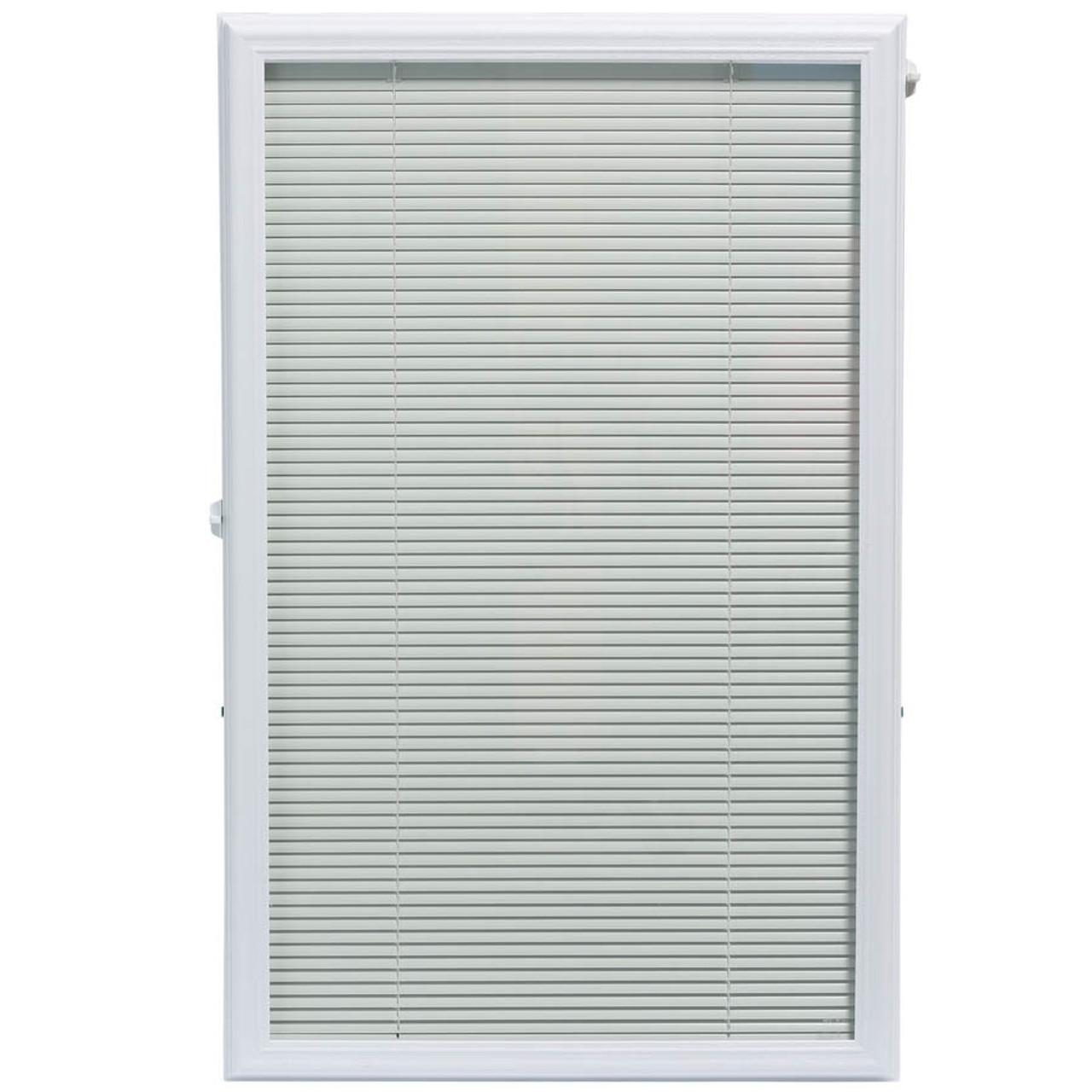22x36 Exterior Door Insert Mini Blinds Add On 92243 Happy Harry S