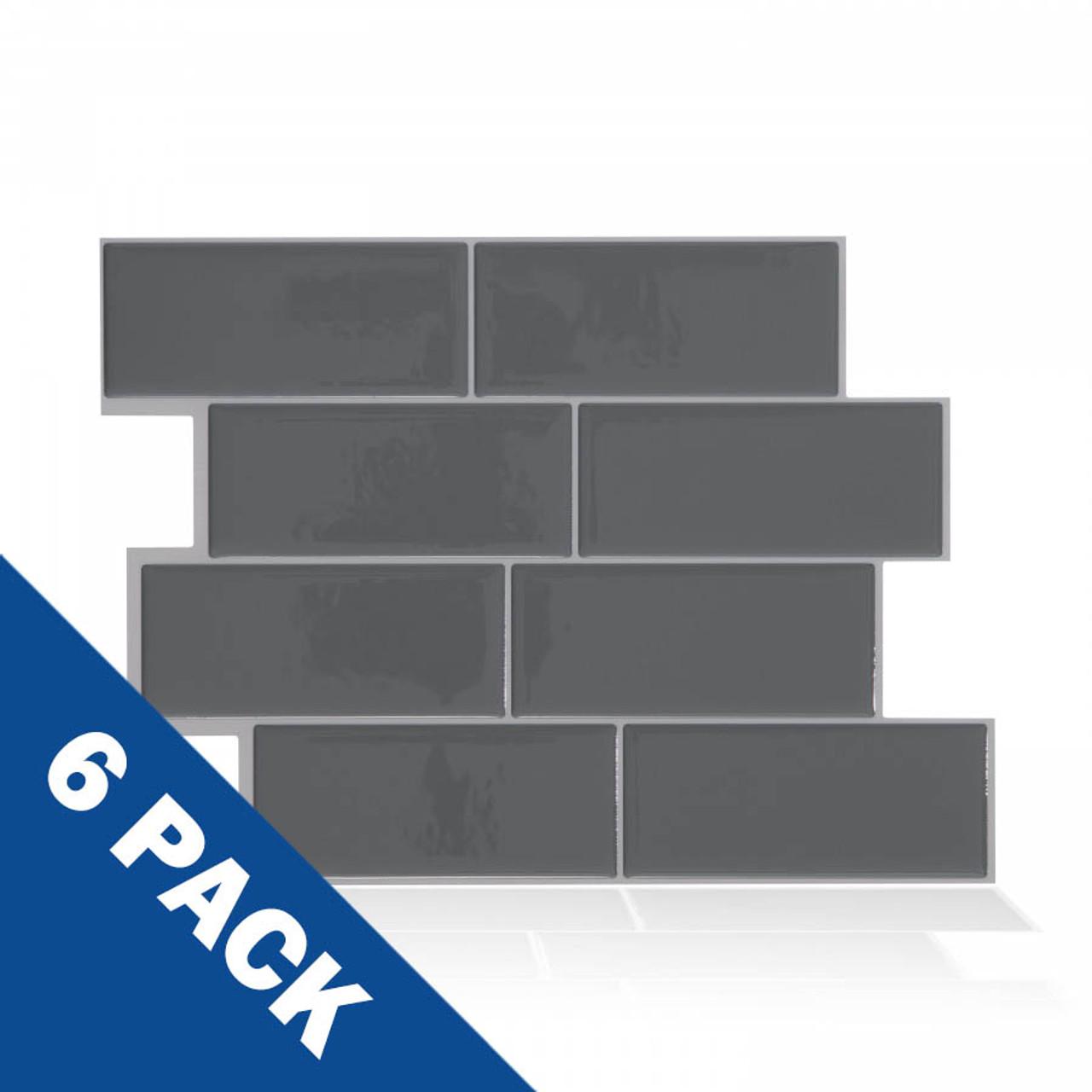 Metro Grigio Smart Tile | 6 Pack | SM1064-6