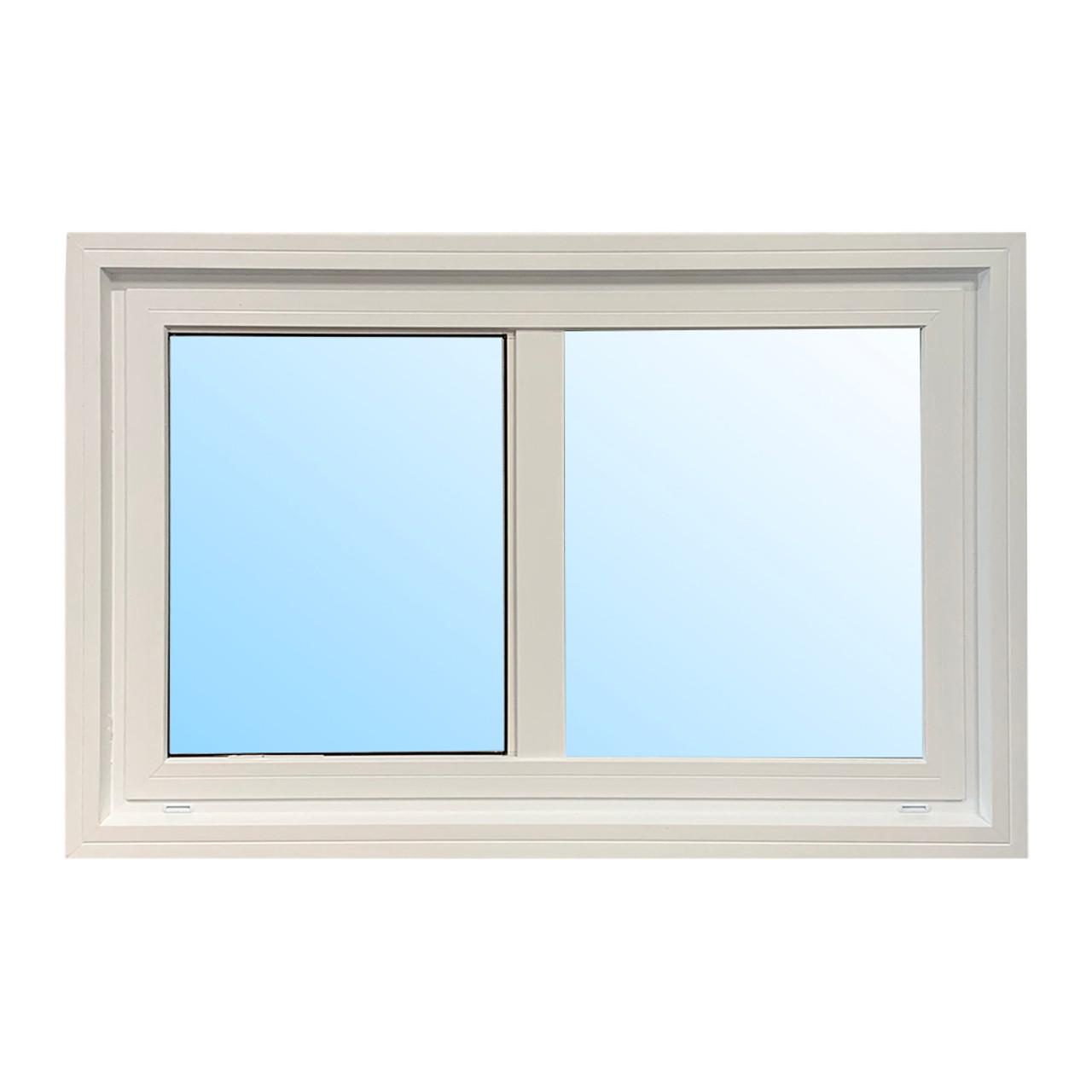 "Castlegard | 36"" x 35"" Horizontal Slider Window | LEA"