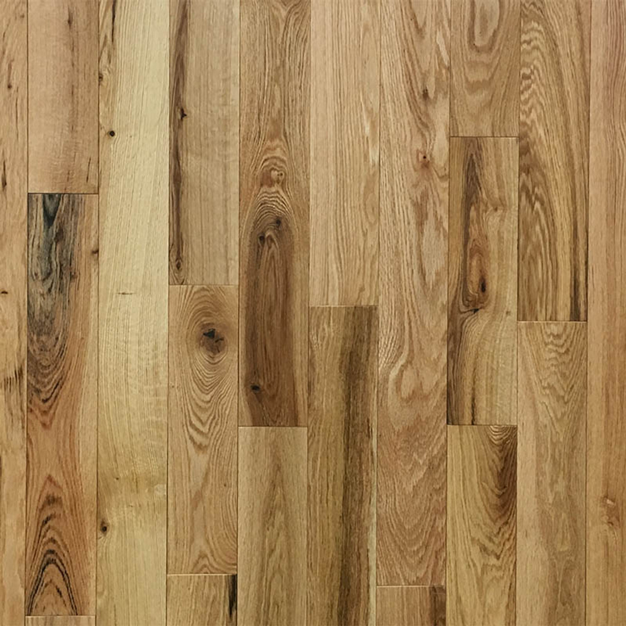3.25 Red Oak Bistro Natural Solid Hardwood Flooring | 20 Sq.Ft. Per Box | Sold by the Box