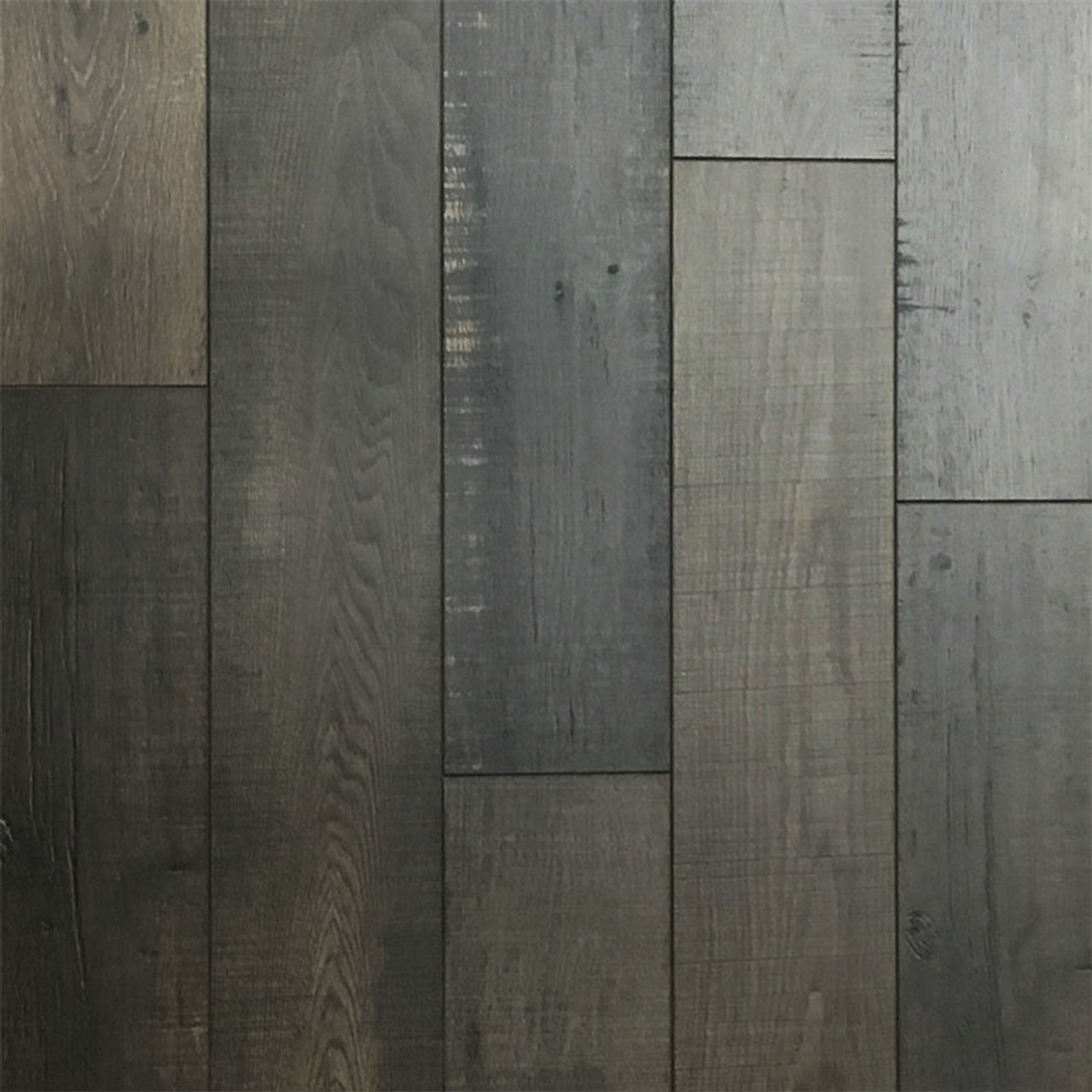 12MM Nickel Pine Laminate Flooring | Attached Underpad | 11.63 Sq.Ft. Per Box | Sold by the Box