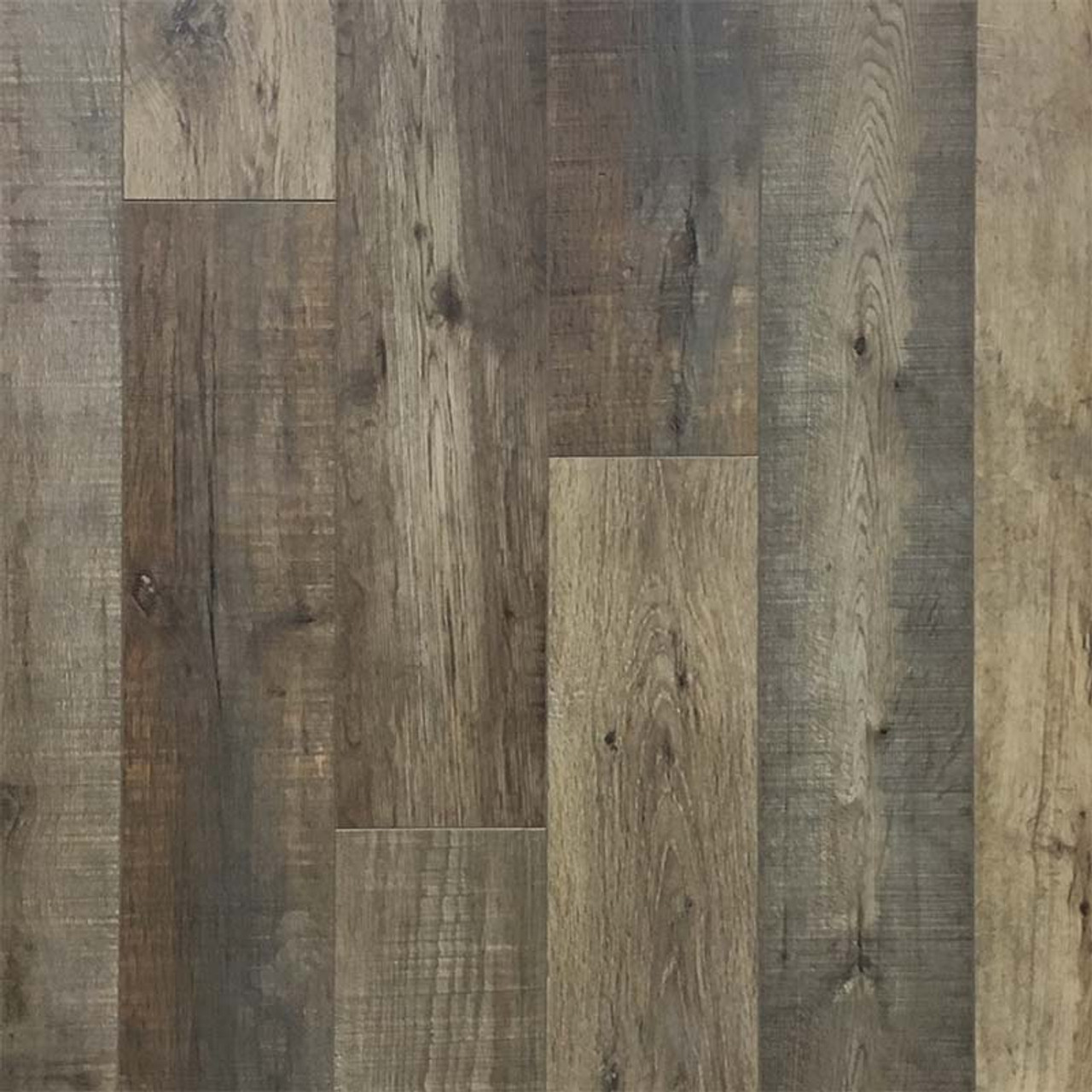 12MM Russet Pine Laminate Flooring | Attached Underpad | 11.63 Sq.Ft. Per Box | Sold by the Box