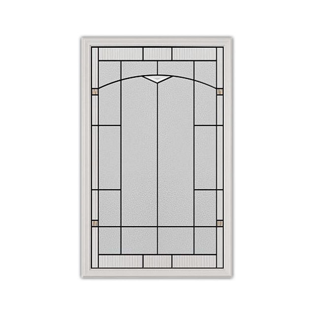 22x36 Topaz Patina Exterior Door Insert | 3092