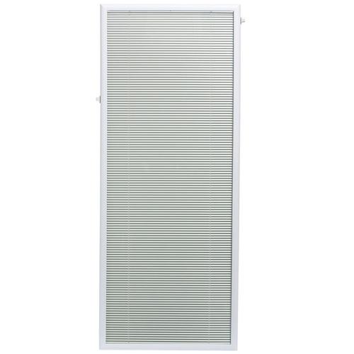 22x64 Exterior Door Insert Mini Blinds Add-On | 92245