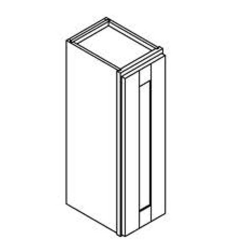 12 Inch x 30 Inch Wall Cabinet   White   Soft Close   Ready to Assemble
