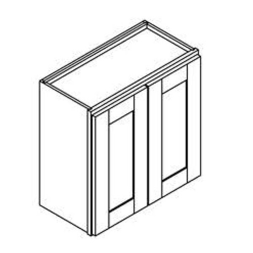 24 Inch x 30 Inch Wall Cabinet   Grey   Soft Close   Ready to Assemble