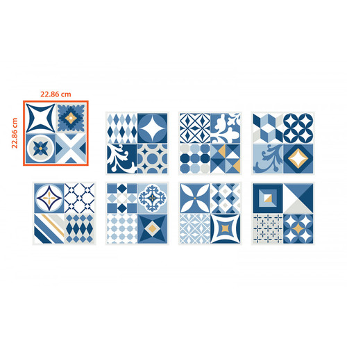 Vintage Gaudi | Smart Tile | 6 Pack | SM1093-6
