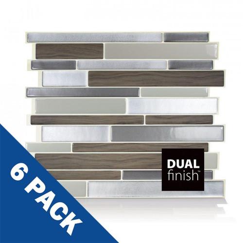 Milano Argento Smart Tile | 6 Pack | SM1050-6
