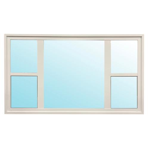 "Castlegard | 95"" x 54"" Single Hung Window | LEA"