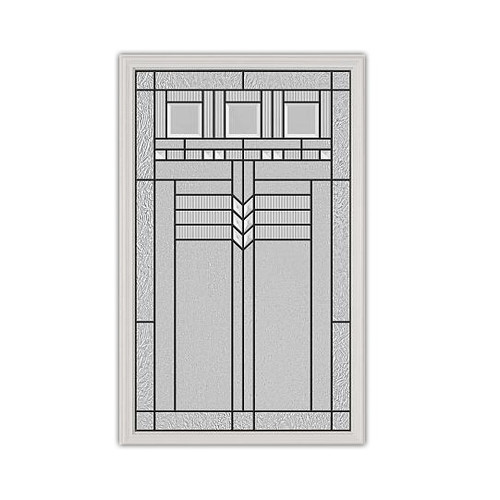 22x36 Oak Park Patina Exterior Door Insert | 3090