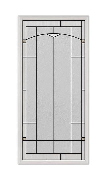 22x48 Topaz Patina Exterior Door Insert | 3089