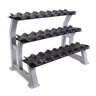 CAP 3-Tier Dumbbell Rack with Saddles, 44 in