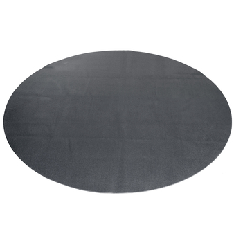 CAP Barbell Antimicrobial Multi-Use Round Activity Mat, Black, 5 ft
