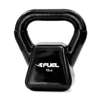 15 lb Fuel Pureformance Vinyl Dipped Cast Iron Kettlebell