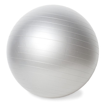 CAP Fitness Gym Ball, Silver, 65 cm