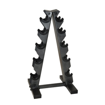 CAP A-style Dumbbell Metal Storage Rack, Black