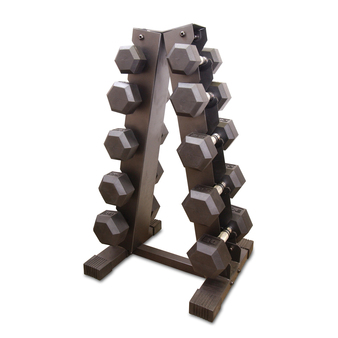 CAP Dumbbell Set with Rack, 200 lb