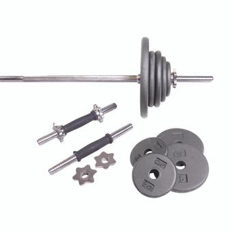 CAP Regular 110 lb Set with Threaded Bars