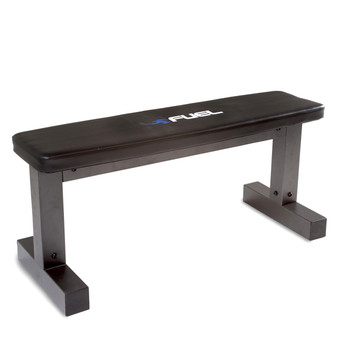Fuel Pureformance Flat Bench, angled view