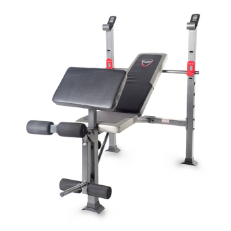 CAP Strength Standard Bench with Full Leg Developer and Preacher Pad