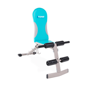 Tone Fitness FID Bench, upright position