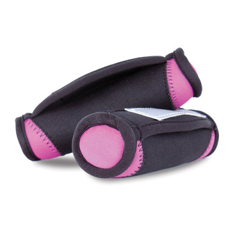 Pink Tone Fitness Soft Walking Weights