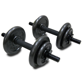 40 pound Fuel Pureformance Adjustable Cast Iron Dumbbell Set