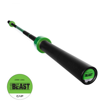 "CAP Custom ""The Beast"" Olympic Lifting Bar, Sublime Green (OB-86B-G)"