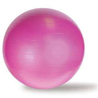 CAP Yoga Gym Ball, Pink, 65 cm
