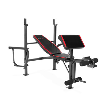 CAP STRENGTH STANDARD BENCH WITH BUTTERFLY AND PREACHER CURL (FM-CS7250)