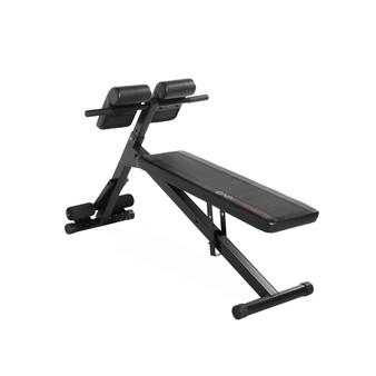 Cap Strength Hyperextension/Ab Bench, Black
