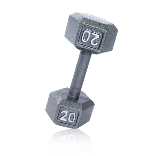 110lbs Solid Cast Iron Hex Dumbbell Great for wide Range workout Routines