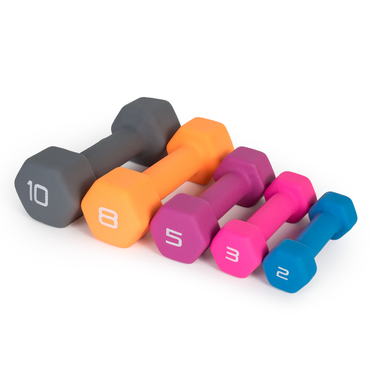 CAP Barbell Color Coated Dumbbell Weights Various Colors