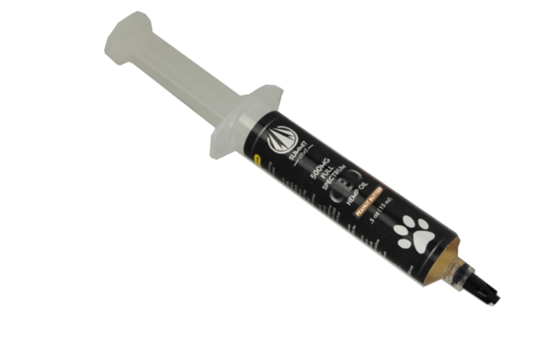 These syringes are a perfect way to accurately and easily dose your animal with Full Spectrum Hemp Oil. They are both practical and punch plenty of power with each milliliter containing either 33mg or 66mg. They also come in delicious flavors that your pet is sure to love.