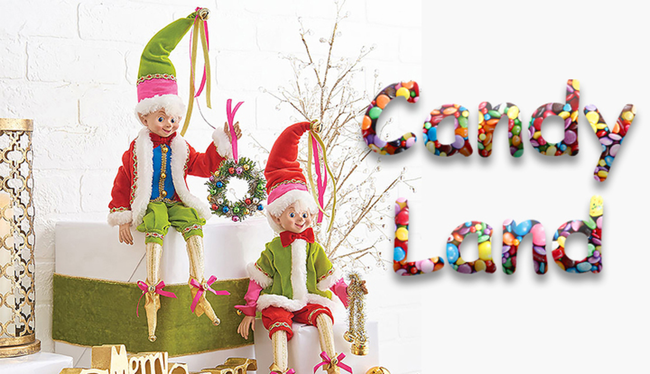 Candy Lane Tree Theme