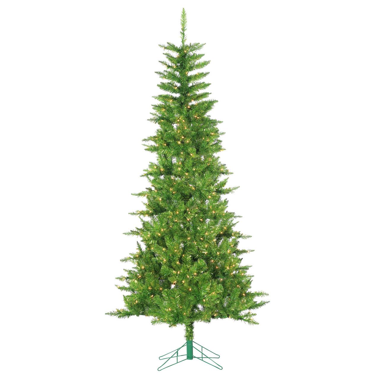 Christmas Tree Tinsel.7 5 Green Tuscany Tinsel Artificial Christmas Tree 6036 75lg