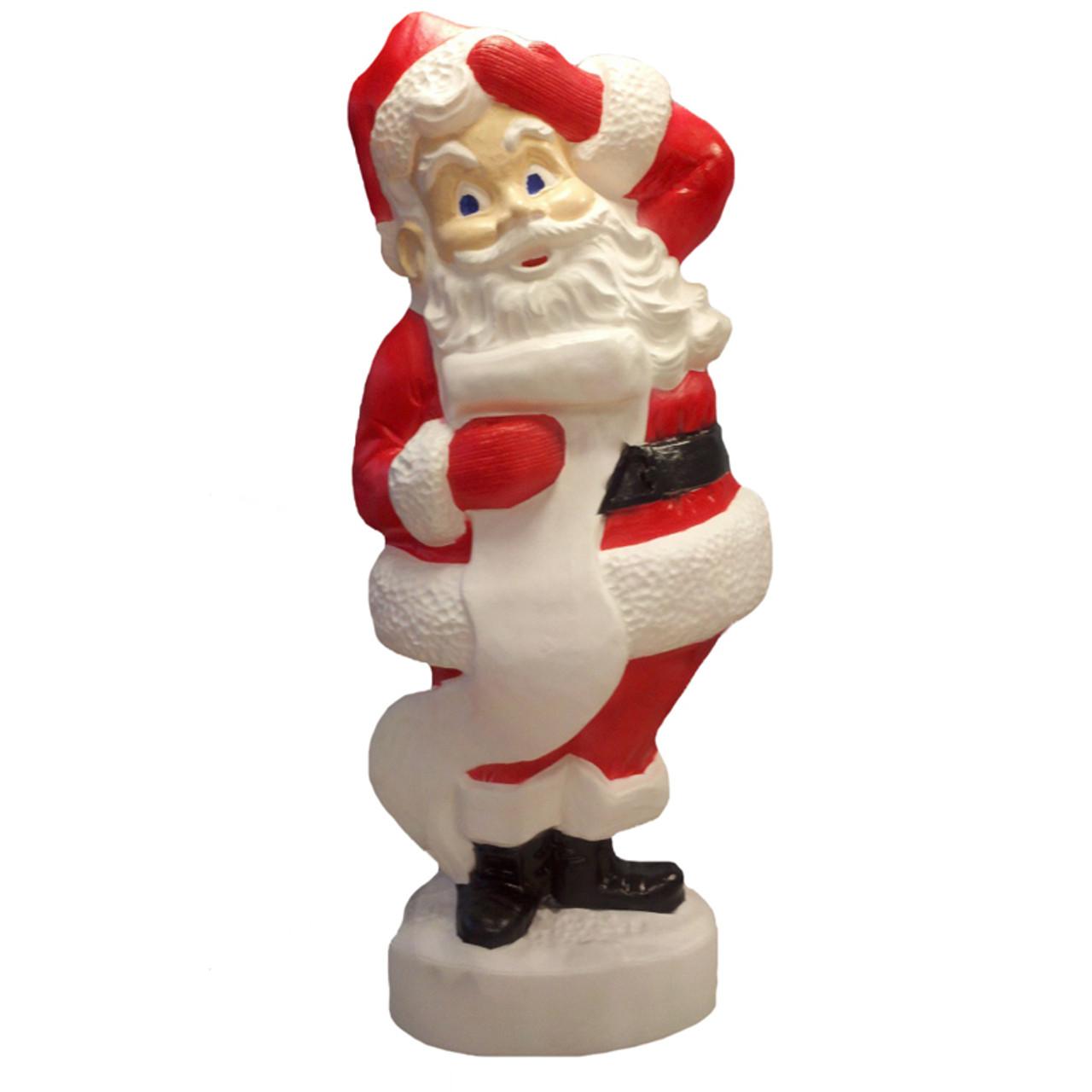 """43"""" Santa Blow Mold Outdoor Christmas Decor"""