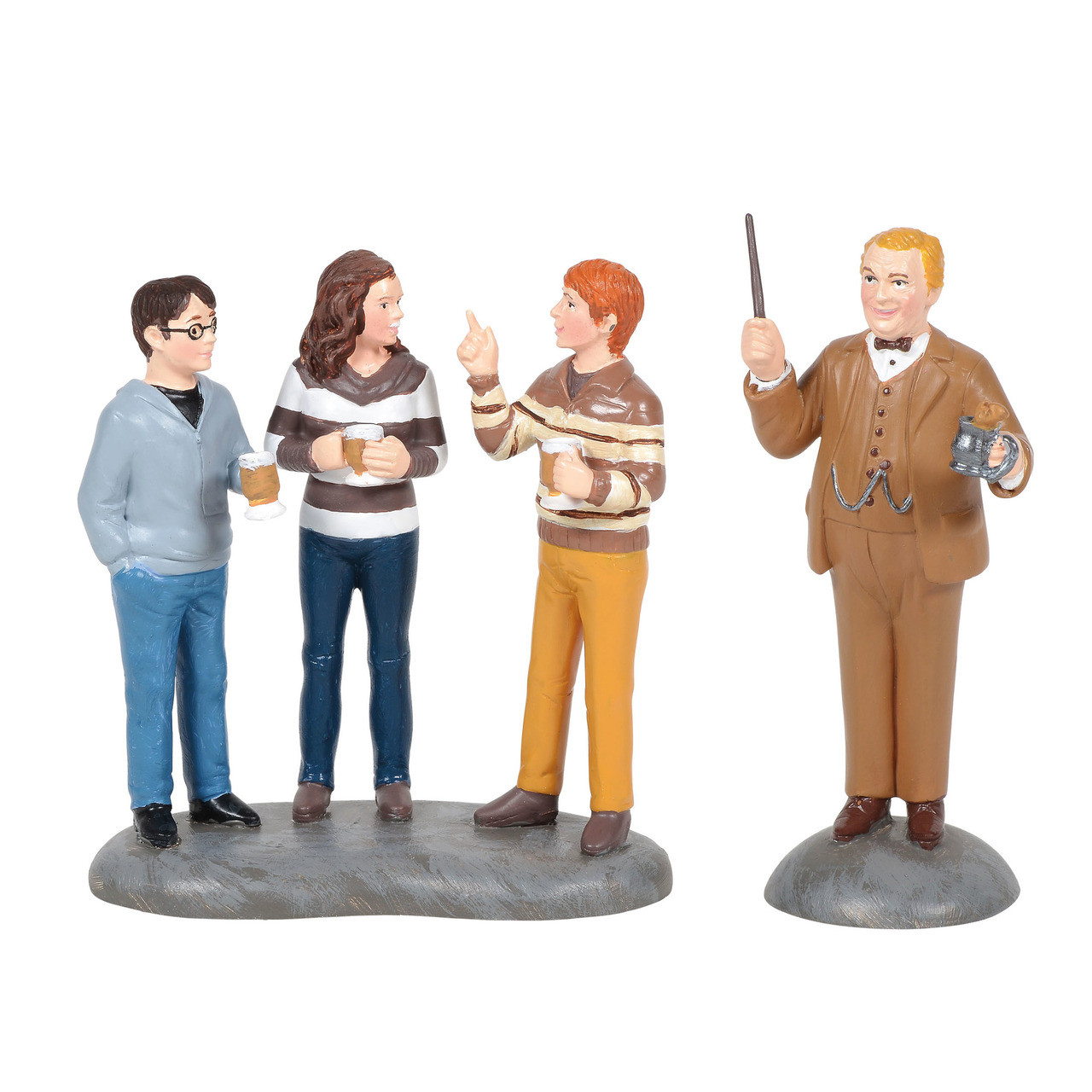 Department 56 Harry Potter Village Filch and Mrs.Norris Figurine 6006513