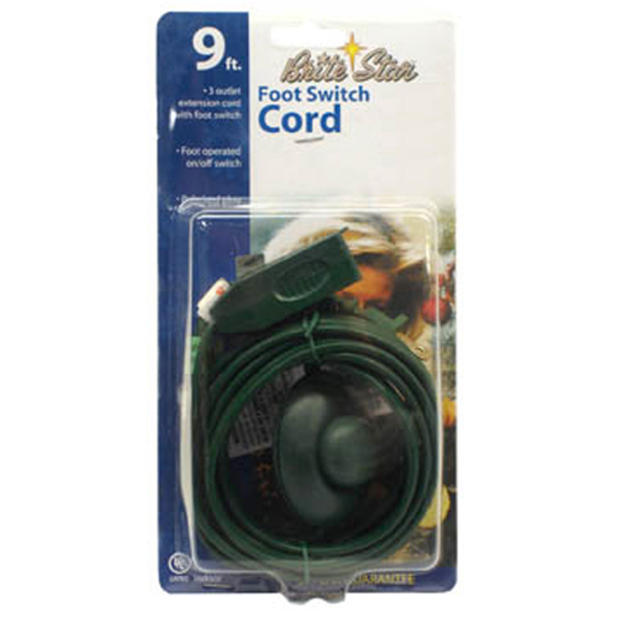 9 Extension Cord With Foot Pedal Christmas Tree Extension Cord