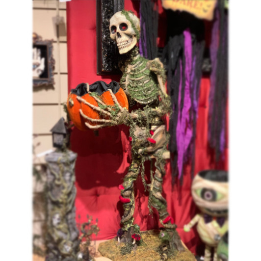 Katherine/'s Collection Day Of The Dead Black Cat Figure 28-928577 NEW Halloween