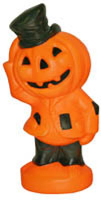 "14"" Scarecrow Pumpkin Blow Mold H7040"