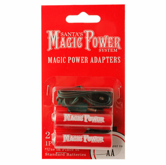 Raz Magic Power 2-AA Adapters 3416164