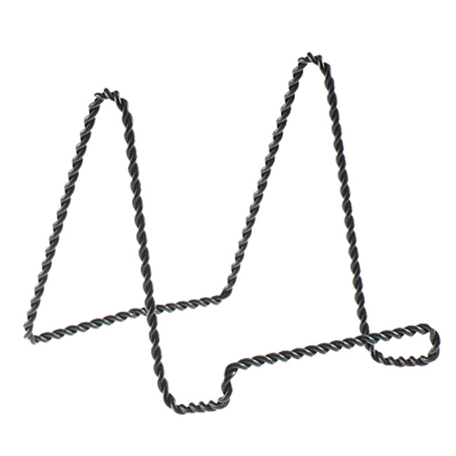 "4"" Black Twisted Wire Stand 5202-66"