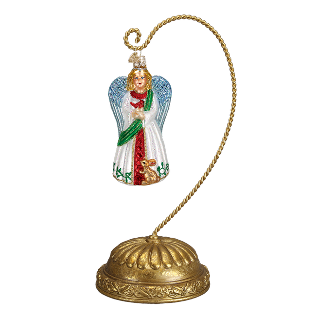 Old World Christmas Musical Rotating Ornament Stand 14206