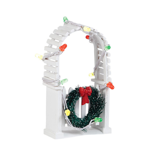 Department 56 Snow Village Twinkle Brite Trellis Accessories 4038814