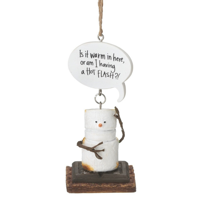 "2"" Hot Flash S'mores Christmas Ornament 111720"