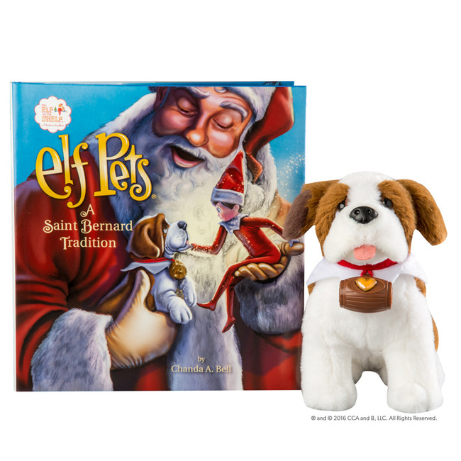 The Elf On The Shelf Elf Pets Tradition: Saint Bernard EPSD