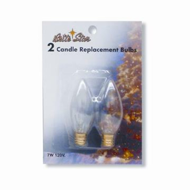 Pack of 2 Replacement Candle Bulbs 44-585-00